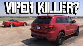 Jeep Trackhawk a Half Mile Viper Killer? +McLaren, R8, Mustang, More!