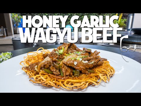 HONEY GARLIC BEEF & CRISPY NOODLES  FOR CHINESE NEW YEAR | SAM THE COOKING GUY