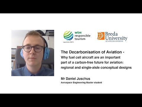 6. Mr Daniel Juschus - Why fuel cell aircraft are an important part of a carbon free future...