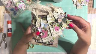 Upcycling & Repurpose Old Book Pages - DIY Gift Tags
