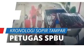 Sopir Pikap Tampar Petugas SPBU Wanita karena Ditegur Masuk Jalur Motor, Simak Fakta-faktanya