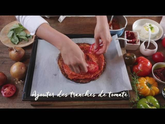 Pizza sans gluten – Les recettes d'Angèle pour NATURALIA