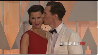 Бенедикт Камбербэтч, Benedict Cumberbatch and gorgeous wife Sophie Hunter 87th Annual Academy Awards Red carpet