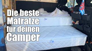 Eine Matratze nach Maß für unseren Camper   Selbstausbau Tipp   Teil 1