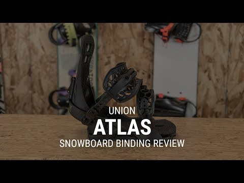 2019 Union Atlas Snowboard Binding Review- Tactics