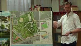 Презентация проекта сквера в Старозагородной роще Омска.