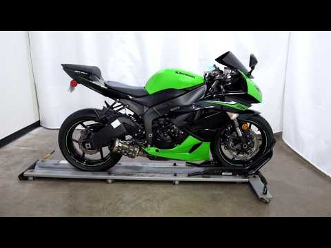2010 Kawasaki Ninja® ZX™-6R in Eden Prairie, Minnesota - Video 1