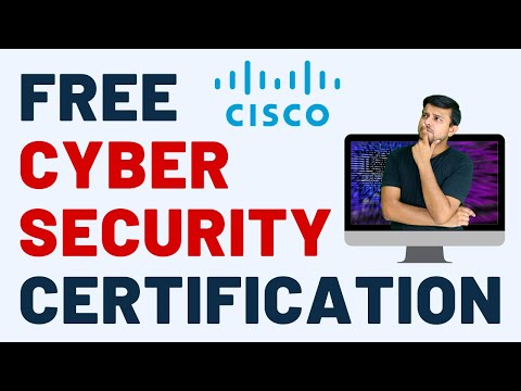 100% Free Cisco Cyber Security Certification - YouTube