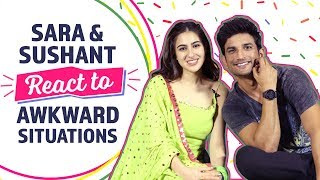 Sushant Singh Rajput at his candid best with Sara when