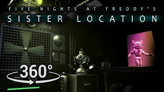360°| Primary Control Module - FNAF Sister Location [SFM] (VR Compatible)