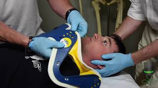 Fitting a Cervical Collar