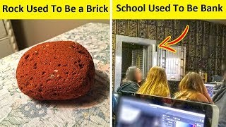 Things You Won't Believe They Used To Be Other Things (NEW PICS!)