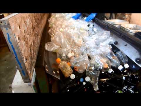 ペットボトルラベル剥し機 関東再資源化センター様(2014 4)   大連騰秀商貿