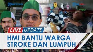 Galang Dana Rp5 Juta, HMI Lhokseumawe–Aceh Utara Antar Bantuan untuk Warga Penderita Lumpuh Layu