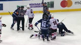 KHL Fight: N.Komarov VS N.Belov