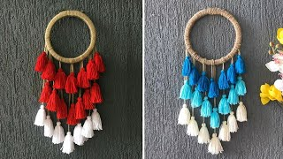 DIY Dream Catcher Wall Hanging / Traditional Handcrafted Tassel / Style For Room Decor,Gifting