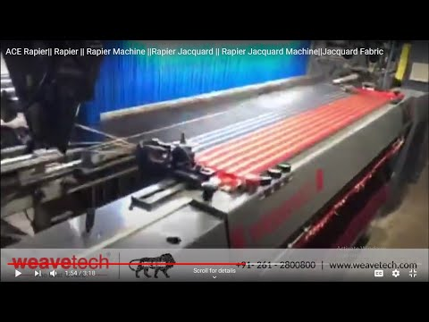Rapier Weaving Loom