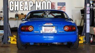 The CHEAPEST Modification for your Miata!