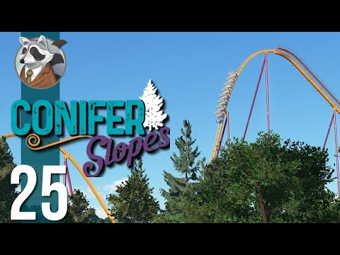 The Hypercoaster | Conifer Slopes | Planet Coaster Ep. 25