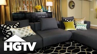 Basement Retreat: Adult Design - HGTV