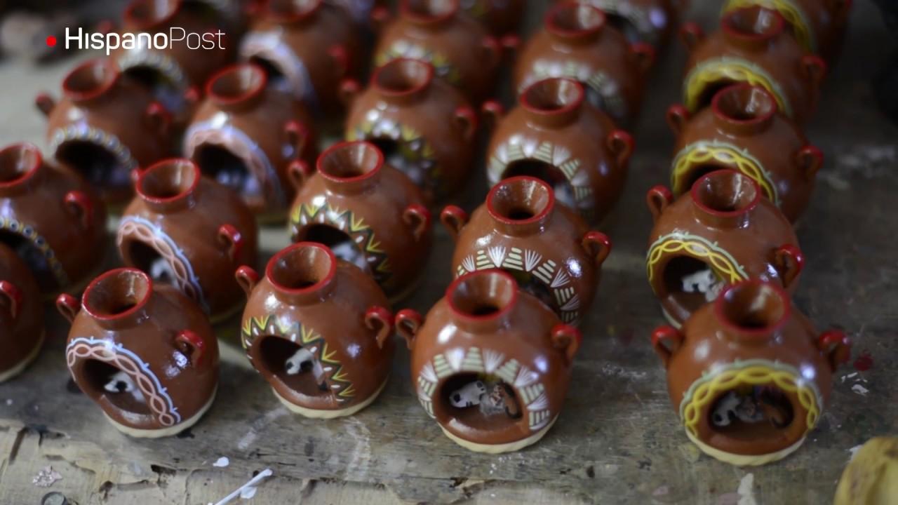 Los artesanos de Ilobasco protegen la tradición de los nacimientos