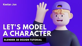 Blender Character Modeling Tutorial - Let's Model a Basic Character - Blender Tutorial