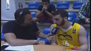 Lebanese Basketball Cup 2018 - Riyadi v/s Beirut Wael Arakji Post Game