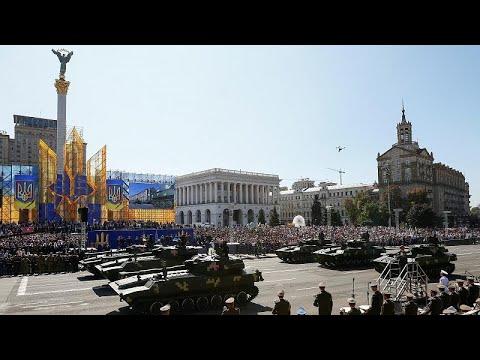 Ημέρα Ανεξαρτησίας με αμερικανικές ευχές στο Κίεβο και συγκρούσεις στο Λουγκάνσκ…