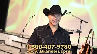 Clay Cooper RFDTV Commercial Branson Missouri!  Video