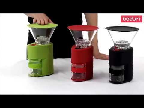 Bodum - Youtube Video about the Bistro electric coffee grinder