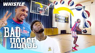 Harlem Globetrotters vs. NBA PLAYER! | Trick Shot HORSE With Nate Robinson
