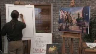Free Art Lesson  <b>Dan Nelson</b>  The Underpainting