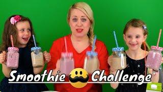 Sofie, Melody och Chanell | Smoothie Challenge Sverige | Svenska
