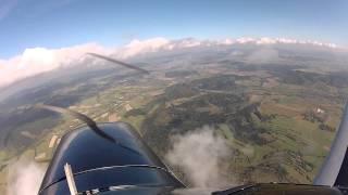 preview picture of video 'Lot widokowy EPWC (Świebodzice) - Czechy - EPWC'