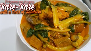 Kare-Kare with a Twist of Kalabasa