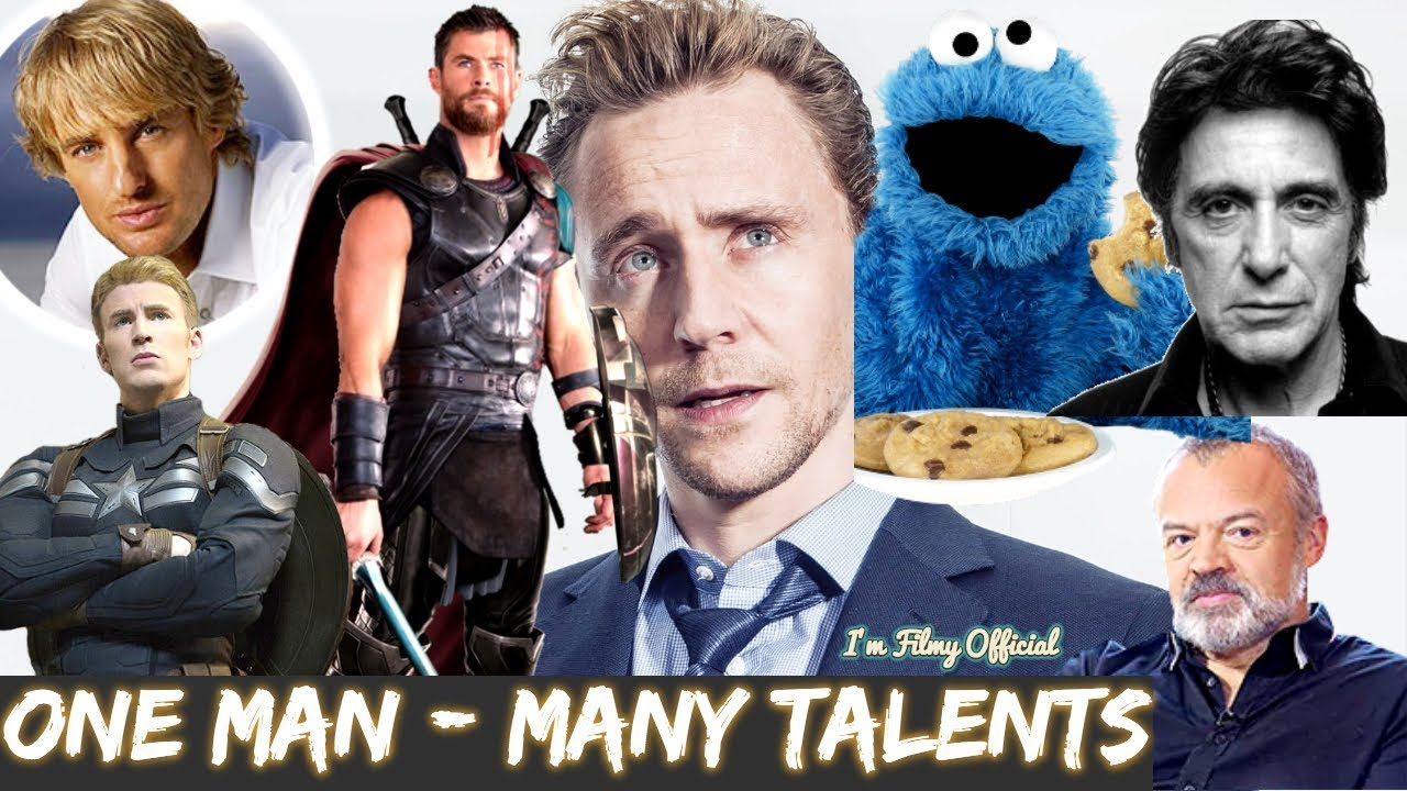 Tom Hiddleston Hilarious Celebrity Impressions - Try Not To