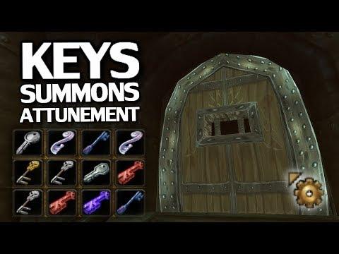 WoW Classic Keys/Attunement/Secret Boss Summon Guide