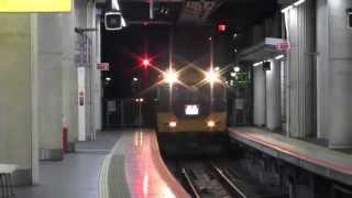 近鉄特急/16010系・喫煙室設置更新済み編成と16600系Aceとの併結列車・阿倍野橋にて
