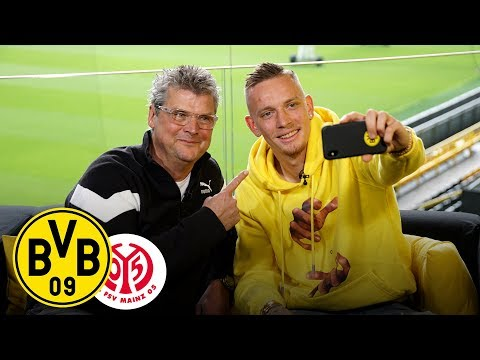 From Winger to Right-Back   Marius Wolf joins Matchday Magazine   BVB - 1. FSV Mainz 05