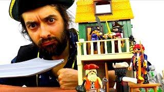 Видео с игрушками для мальчиков. Кто самый крутой Пират?