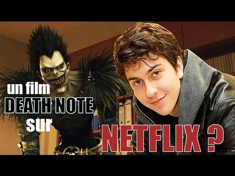 UN FILM DEATH NOTE SUR NETFLIX ? - CHEF's REACTION