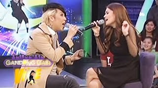 "GGV: Donna Cruz and Vice Ganda sing ""I Can"""