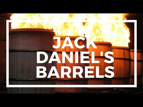 Jack Danile's Whiskey Barrels Getting Charred