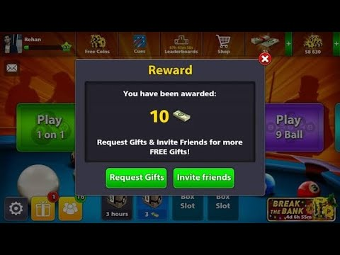 Video Free 100% Working July 2017 Cash Trick 8 Ball Pool (No Hack/ Cheat)