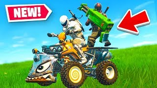 THE *BEST* VEHICLE in Fortnite Battle Royale - QUADCRASHER Gameplay