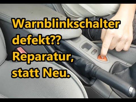 Warnblinkschalter defekt? Reparatur... | Renault Laguna 2