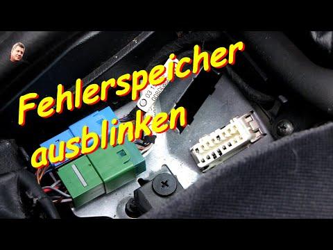 Opel Vectra B Fehlerspeicher ausblinken