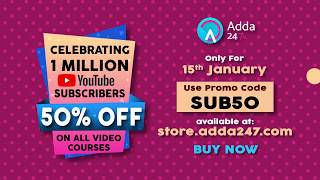 50 % OFF ON ALL VIDEO COURSES 15th January 2017 | CELEBRATING 1 MILLION SUBSCRIBERS