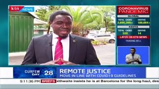 REMOTE JUSTICE: CJ accuses some judicial officers of sabotaging fight against COVID-19