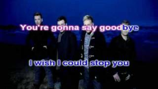 westlife-leaving with lyric where we are